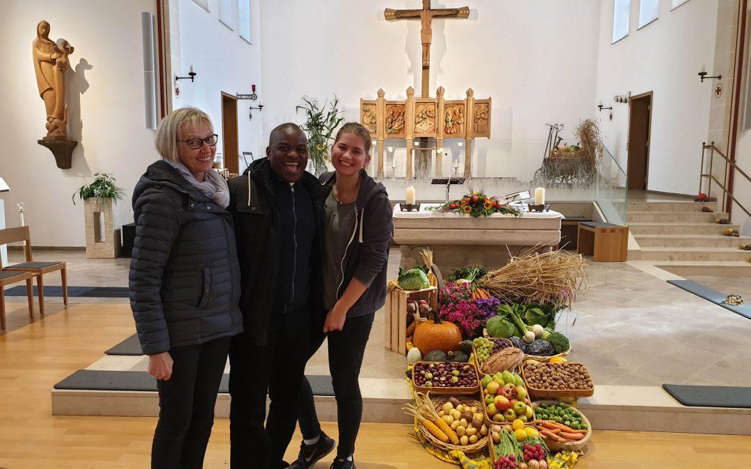 Erntedankfest mit Umoza na Malawi in Sürenheide
